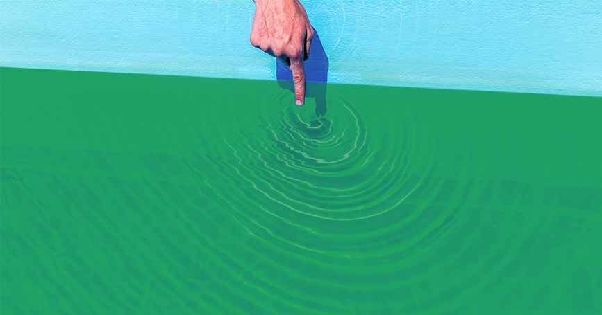 how to clear cloudy pool water after algae treatment