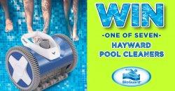 BioGuard Win a Hayward Pool Cleaner